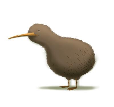 By Dan Santat ~Reminds me of Adam and his kiwi bird tattoo~