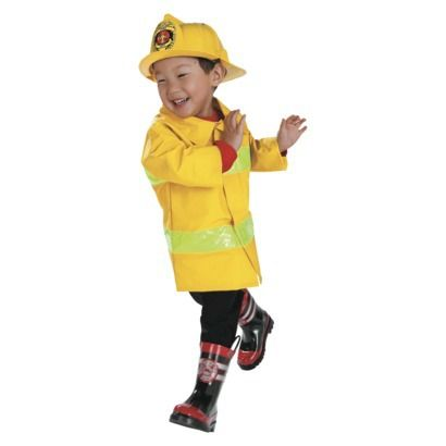 Infant/Toddler Fireman Costume