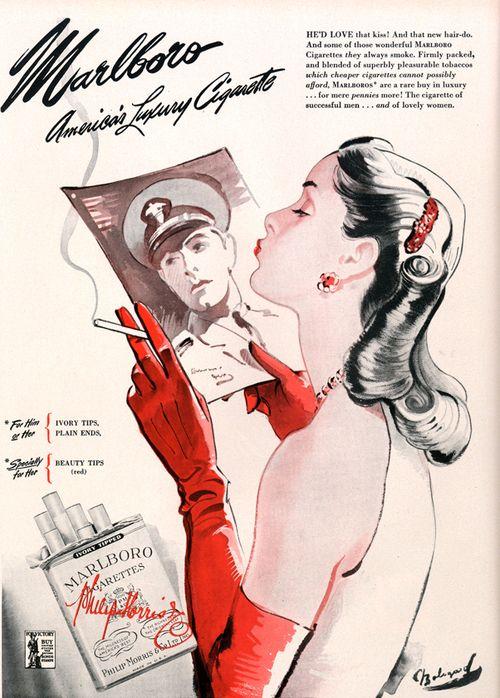 Malboro cigarettes 1944