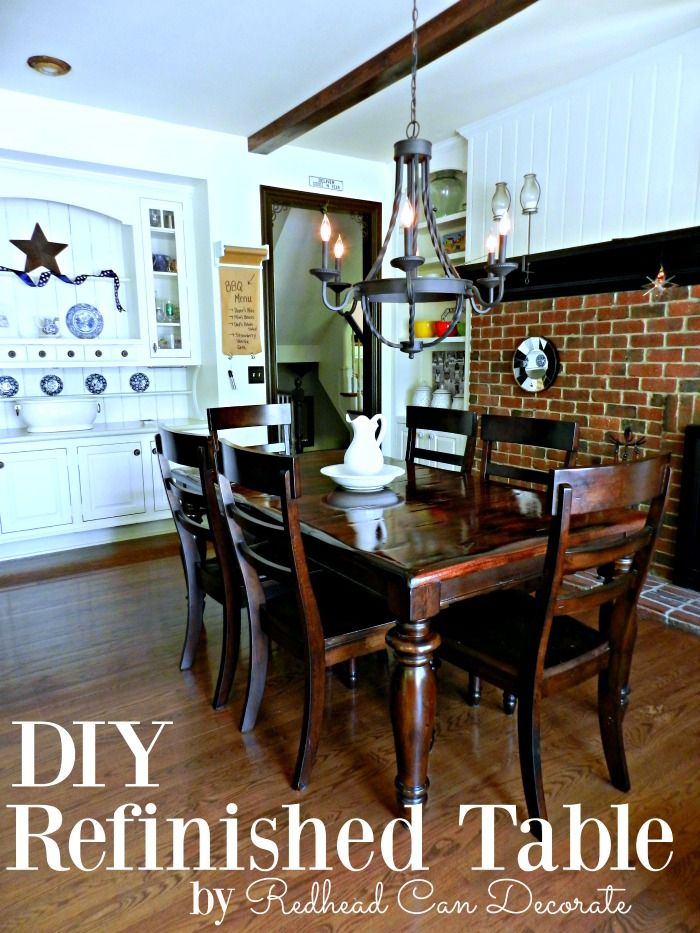 Best Refinished Dining Tables Ideas On Pinterest Refurbished