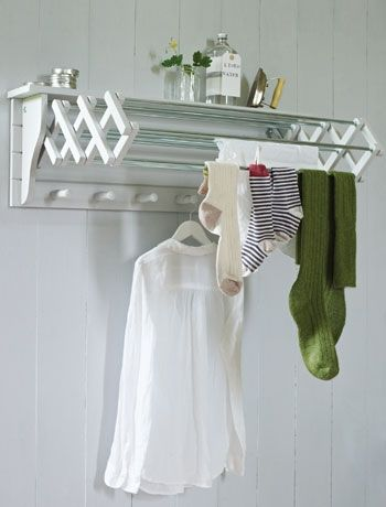 Opt for an extending clothes dryer