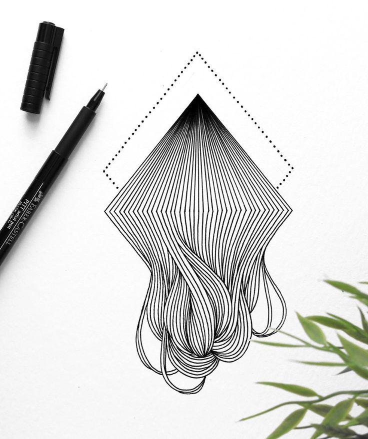 faber-castell, artist pen, pitt, lines, art – Andre