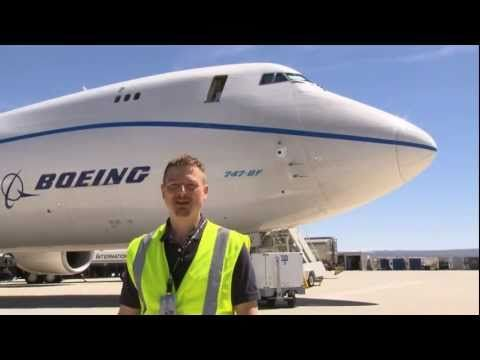 Boeing 747-8 performs ultimate rejected takeoff - YouTube. Good example of marketing brand storytelling online.