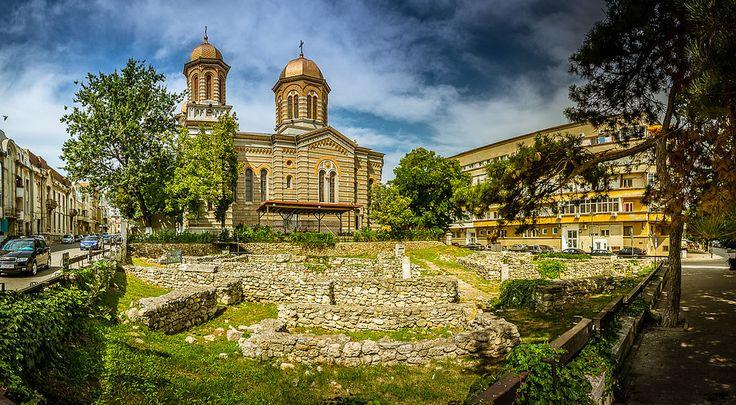 Ancient Greek ruins in Constanta