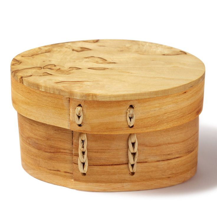 Curly birch Box