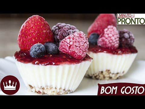3 ingredientes: Cheesecake LIGHT de iogurte grego congelado! - Blog do Bom Gosto
