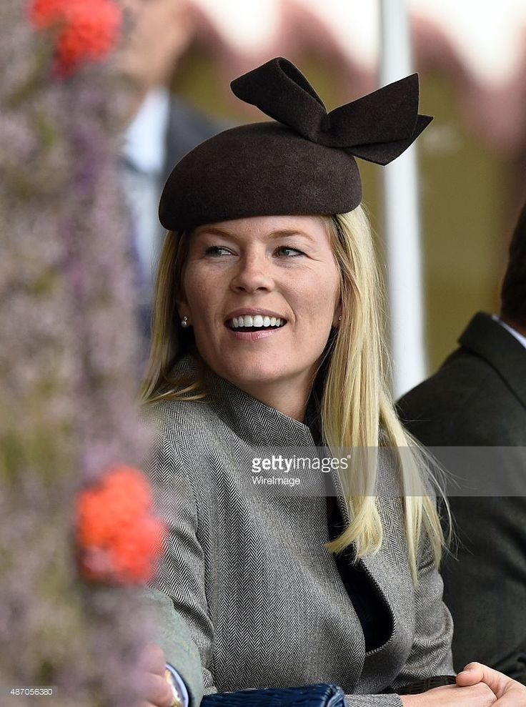 Autumn Phillips attends the Braemar Highland Games