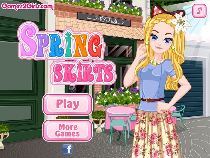 Przyszła wiosna! To czas, gdy dziewczyny odkrywają nogi i coraz chętniej sięgają po kolorowe sukienki http://www.ubieranki.eu/ubieranki/10034/wiosenne-sukienki.html