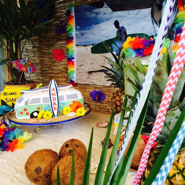 Surf Party Decoration / Summer Party / Hawaii Party / Zurich-Switzerland