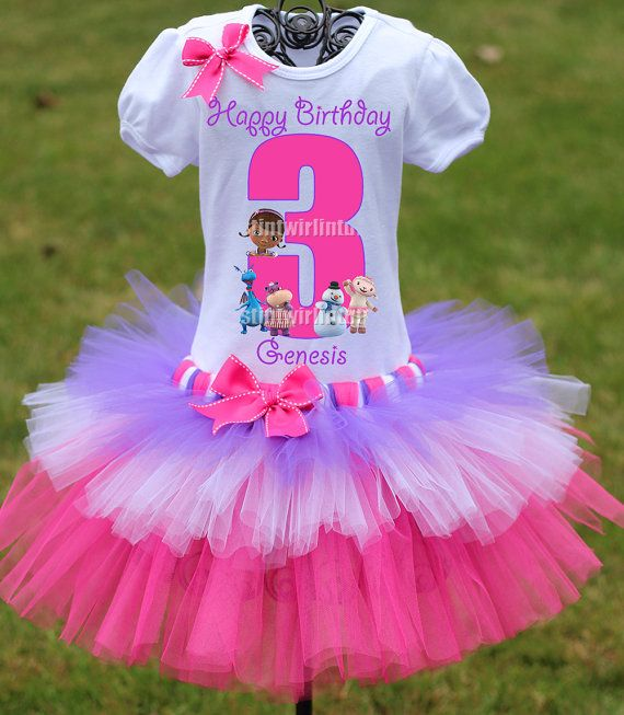 Hey, I found this really awesome Etsy listing at https://www.etsy.com/listing/165635960/doc-mcstuffins-birthday-outfit-doc