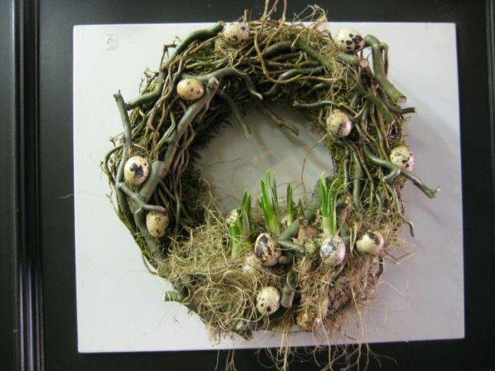 pasen - mooie, stoere voorjaarskrans