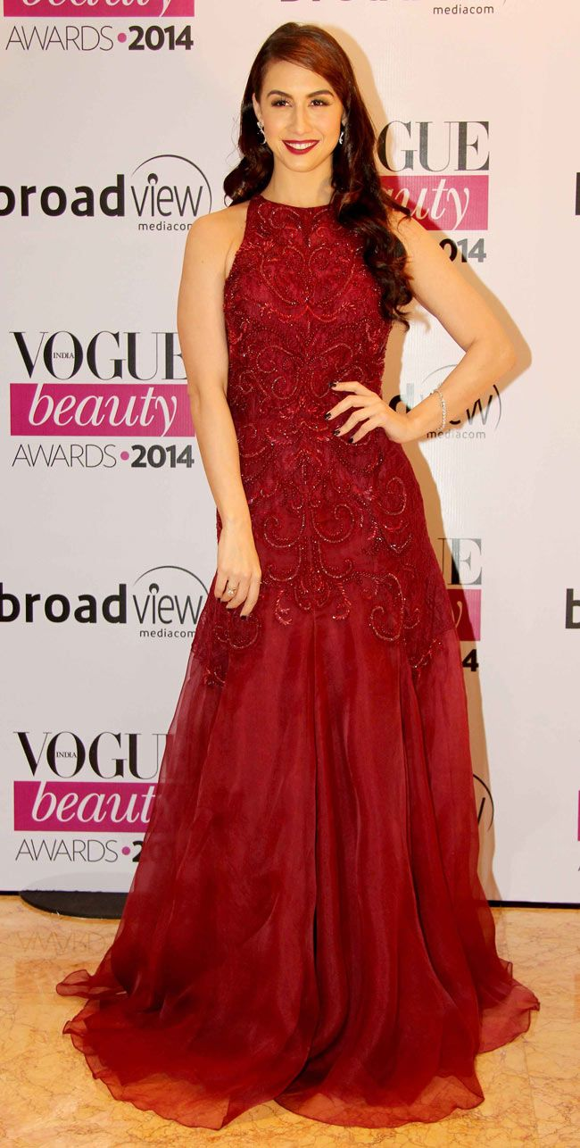 Lauren Gottlieb at Vogue Beauty Awards 2014.