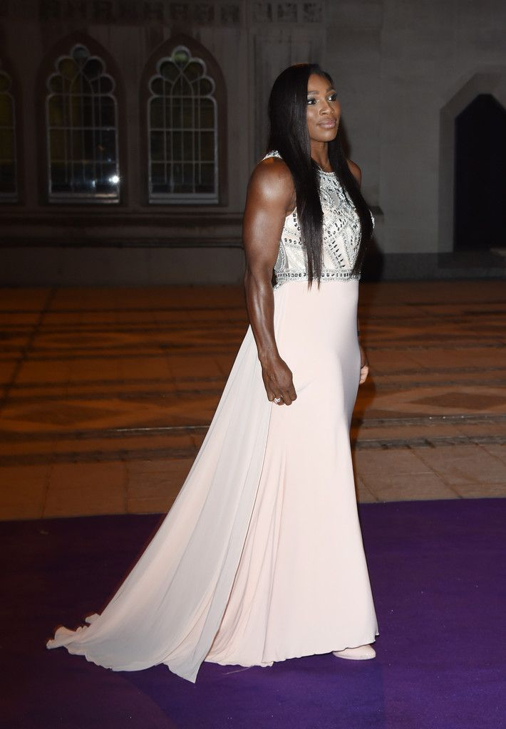 Serena Williams Photos: Red Carpet Arrivals at the Wimbledon Champions Dinner
