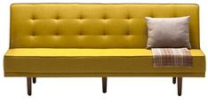Buy Alia Three Seater Sofa Bed in Yellow Colour by Furny  Online: Shop from wide range of Sofa Cum Beds Online in India at best prices. ✔Free Shipping✔Easy EMI✔Easy Returns