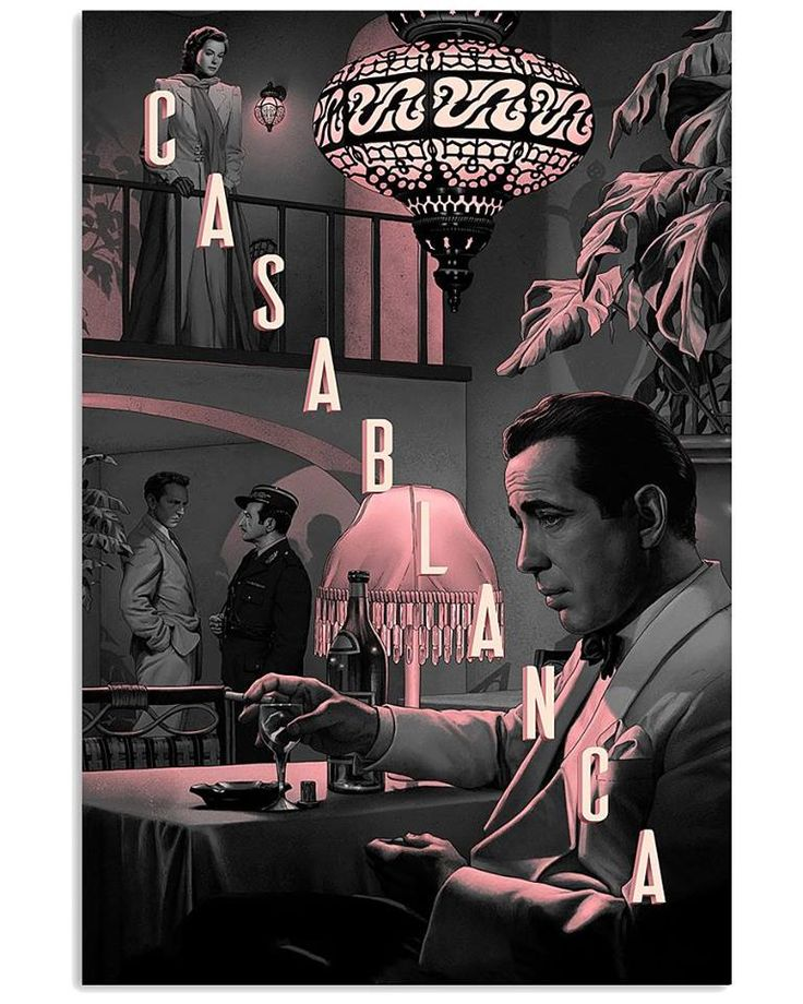 Humphrey Bogart - Casablanca #old #movie