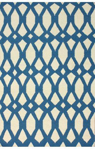 nuLOOM Royal Blue Lark   Contemporary Rugs