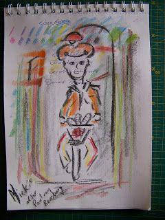 A Pretty Talent Blog: Comparing Marco Raffine Coloring Pencils to Derwent