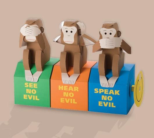 see no evil...