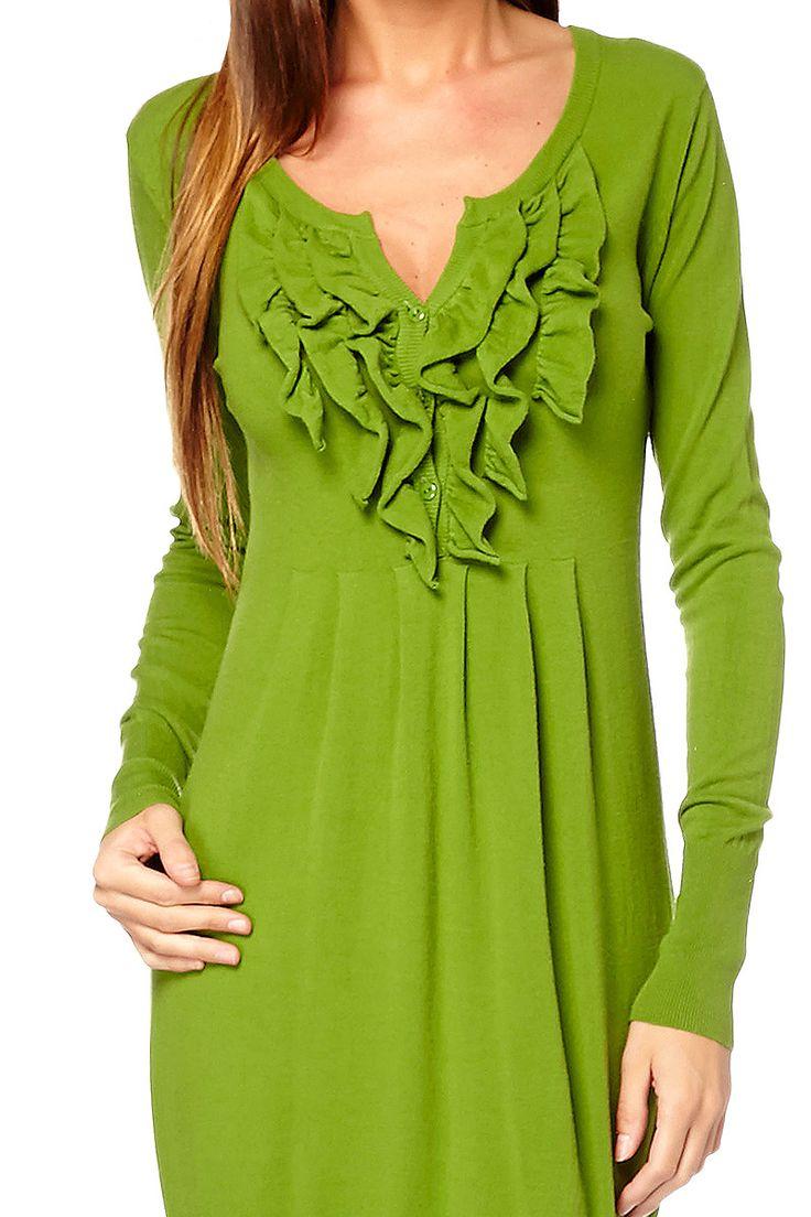Vente Goa Goa / 14596 / Robes / Robes ML / Robe Avior Vert olive