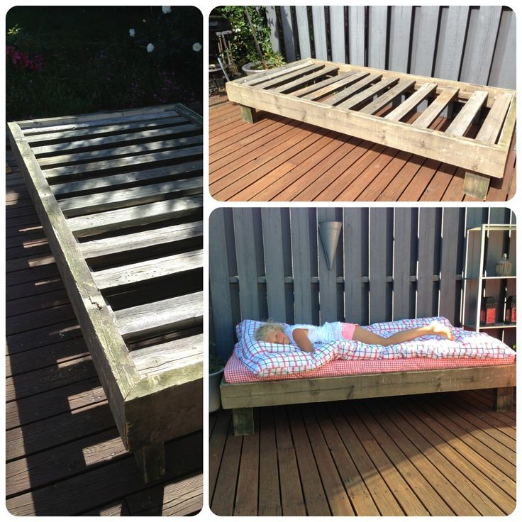 Daybed made of reclaimed wood #diy - 28 Best Daybed Images On Pinterest
