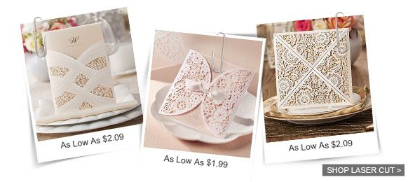 Elegant Wedding Invites wedding invitations are affordably priced and overflowing with quality and style!