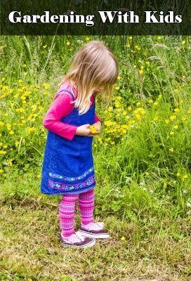 Activities for kids in the garden