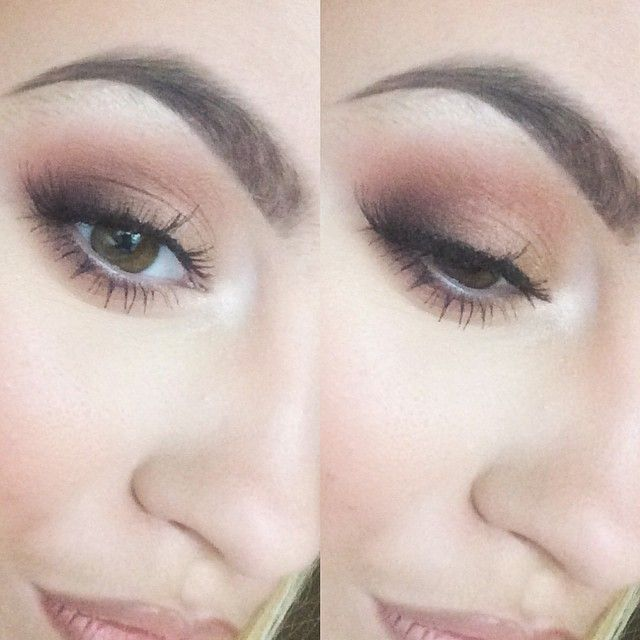 Instagram media by ellietaylorrxx - Today's eyes using all mac eyeshadow's. Brown Script, Folie, Embark and Blonde's Gold pigment. With 36 lashes