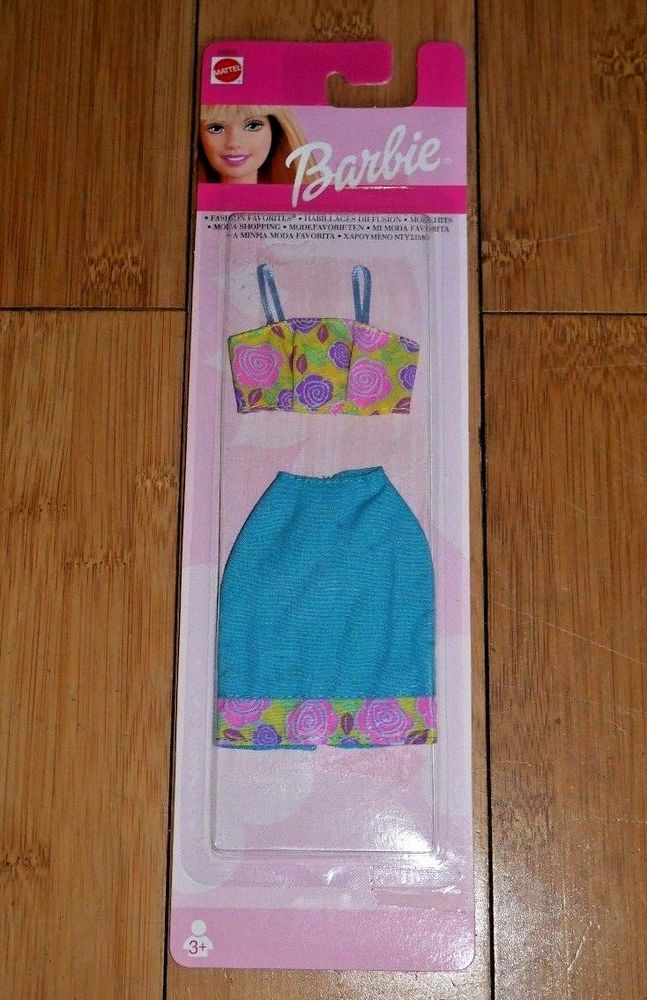 Pink Green and White Skirt and Crop Top Purple Barbie Fashion Favorites ..