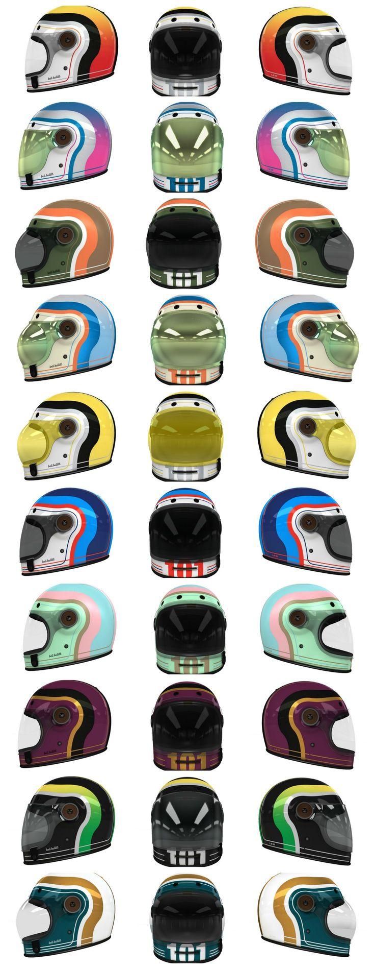 Custom Bell Bullitt Designs by Helmade