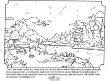 Revelation 21 Coloring Page Sunday School Coloring Pages