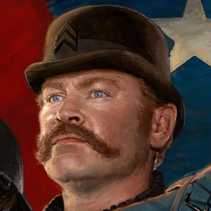 Captain America: The Winter Soldier || Dum Dum Dugan