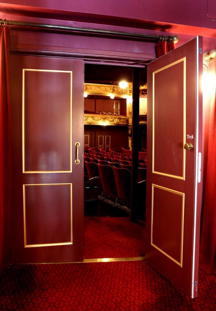 Royal Danish Theatre | Acoustic replica doors