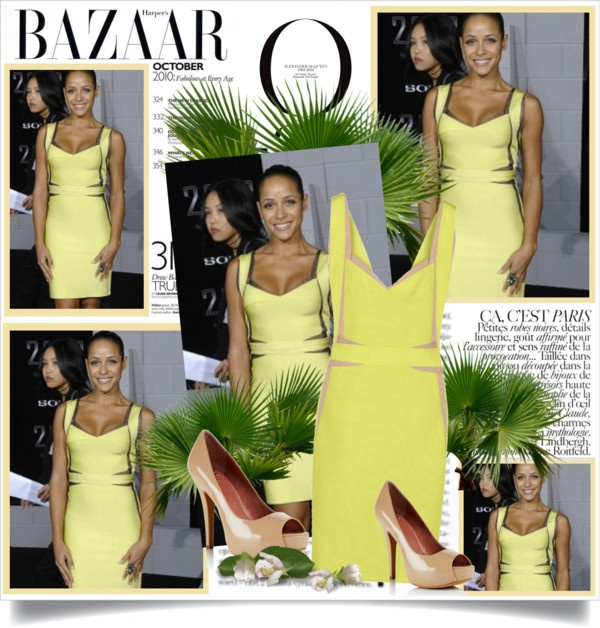 """Dania Ramirez attended the Los Angeles premiere of ""2012″"" by alessia3012 ❤ liked on Polyvore"