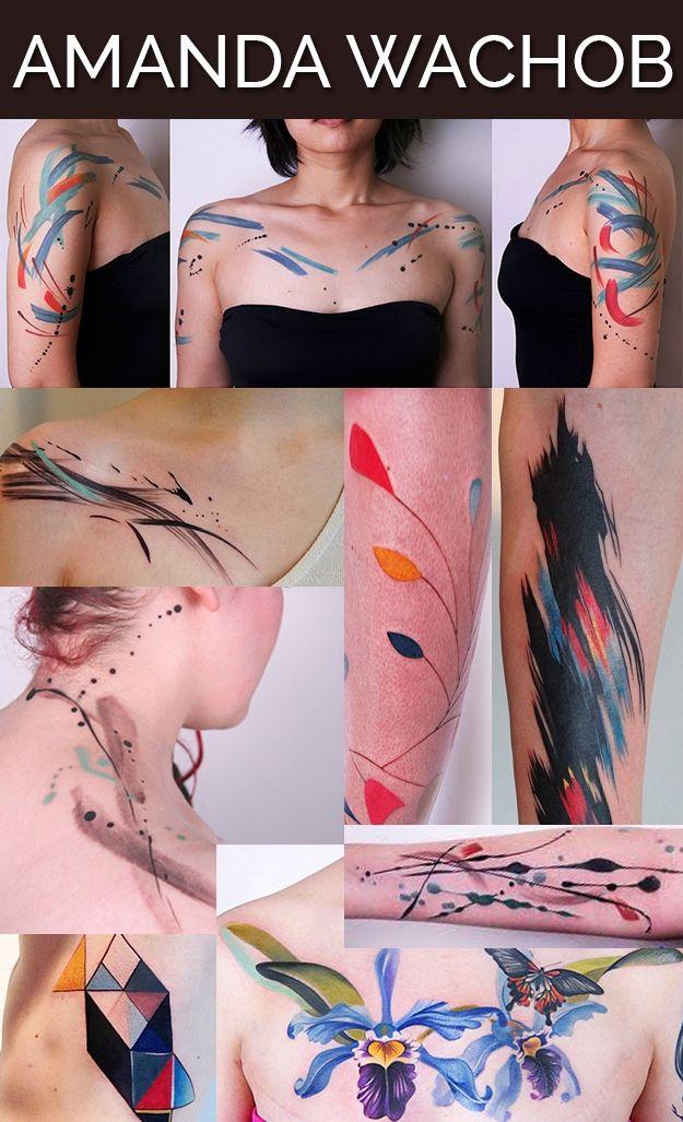 Модные тату от современных мастеров (13 фото)