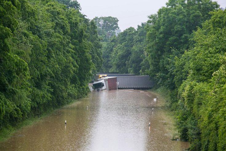 Inundaciones en Francia y Alemania
