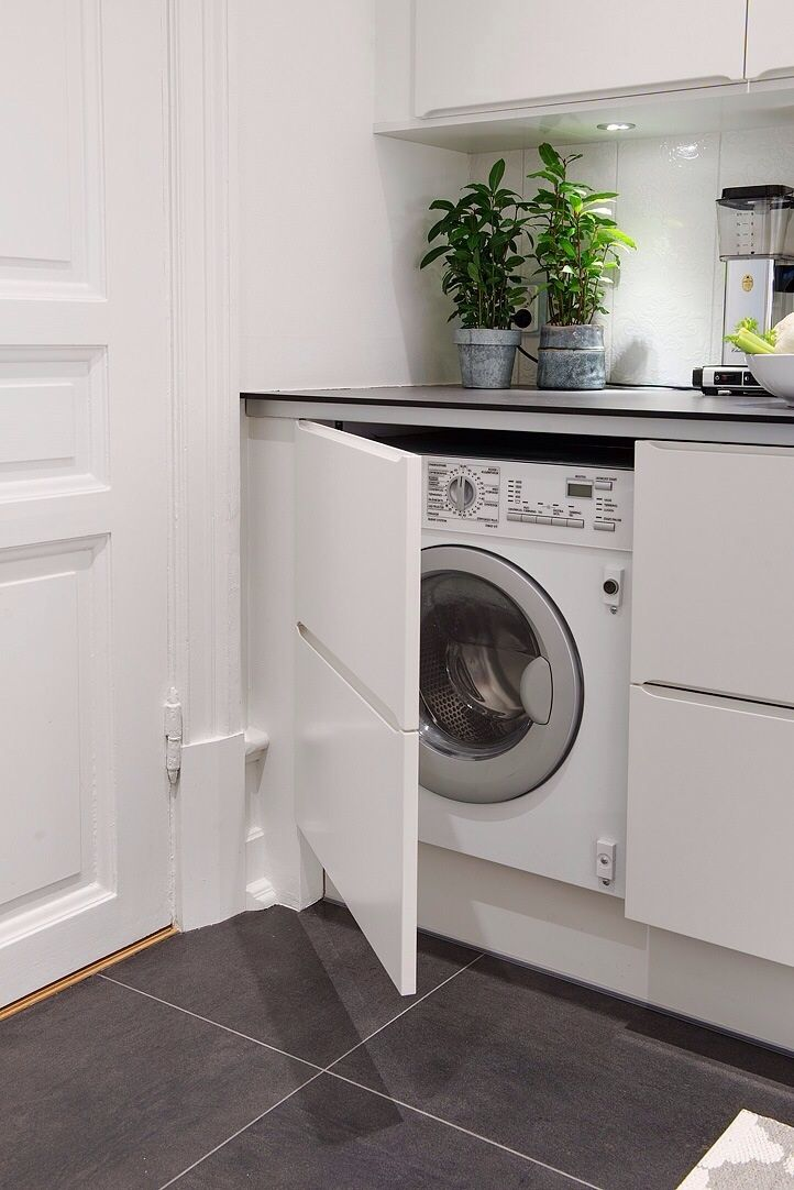 Oltre 1000 idee su Lavanderia In Bagno su Pinterest  Printables Lavanderia,  -> Banheiro Pequeno Com Maquina De Lavar