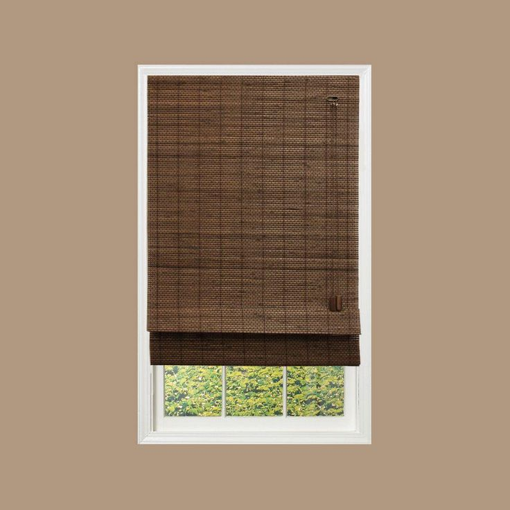 Best 25 bamboo roman shades ideas on pinterest bamboo - Home decorators collection blinds installation instructions ideas ...