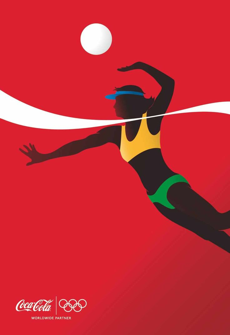 Coca Cola - Jeux Olympiques - Volley Ball