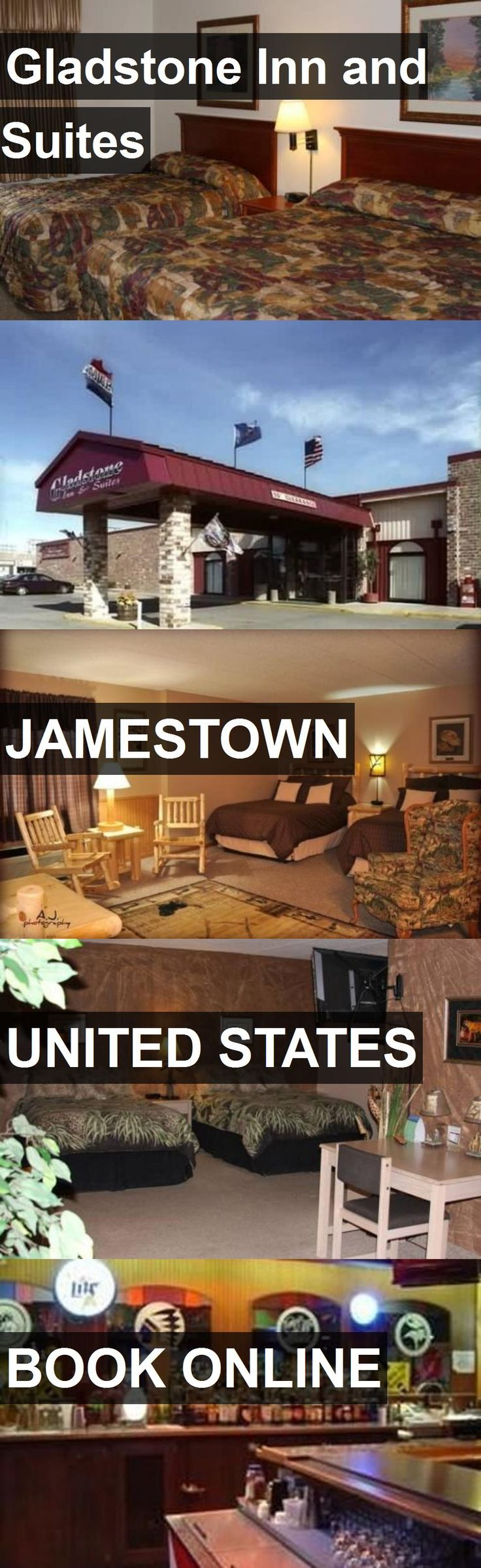 Hotel Gladstone Inn and Suites in Jamestown, United States. For more information, photos, reviews and best prices please follow the link. #UnitedStates #Jamestown #hotel #travel #vacation