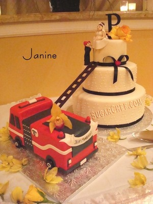 The original Fireman cake I fell in love with...