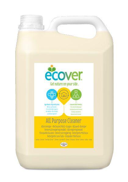 Ecover általános tisztítószer 5l - nagy kiszerelésű, általános tisztítószer (természetes összetevők, antiallergén, környezetbarát összetétel)