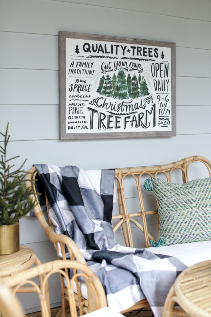 Take a walk down memory lane with the Christmas Tree Farm canvas art by Lindsay Letters. Customize your canvas print to fit your space at Lindsay Letters.