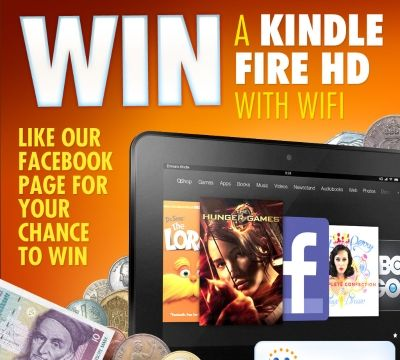 Win a brand new Kindle Fire HD courtesy of Cash4Coins