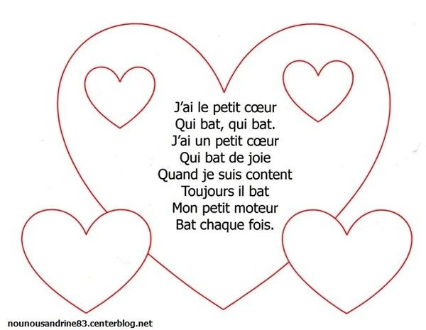 255 best images about chanson et comptine on pinterest - Dessin de petit coeur ...