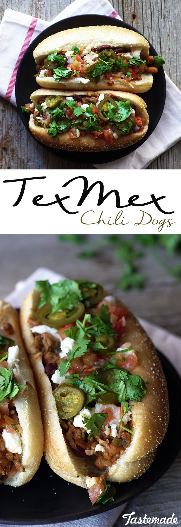 Spice up your usual meat on top of meat, Tex-Mex style.