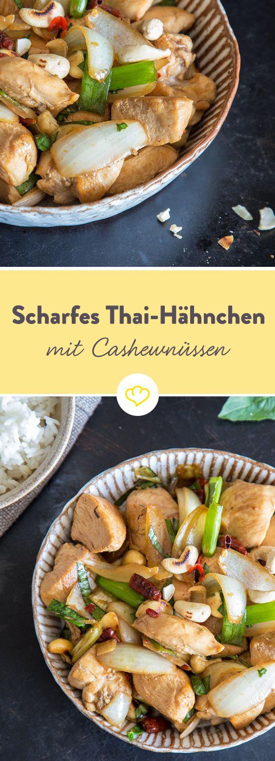 Besorg ein paar Zutaten aus dem Asiamarkt, nimm dir 25 Minuten Zeit und freu dich auf Thai-Food, das ohne viel Chichi ziemlich lecker schmeckt.