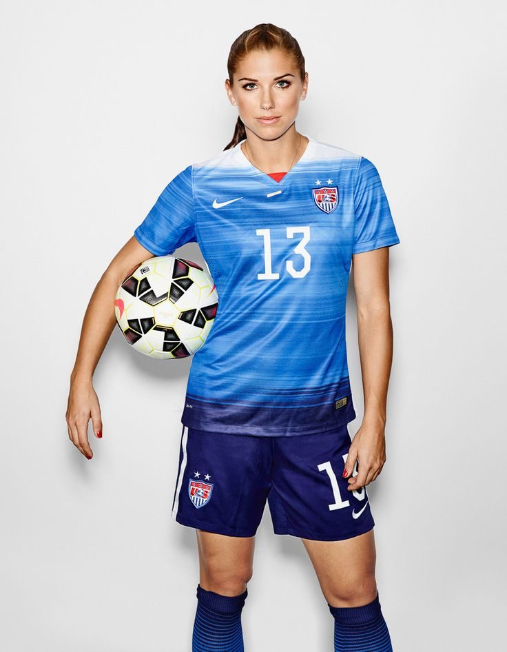 Alex Morgan, Abby Wambach and Sydney LeRoux. ESPN The Magazine.