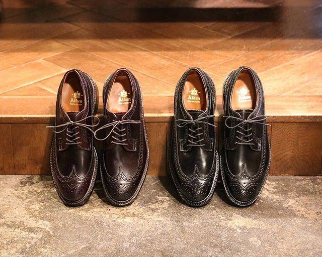 """2017/10/23 20:15:21 acoustics_stylus """"今日の逸品"""" 【ALDENのLONG WING TIP(cordovan)】 . 革靴の代名詞とも言える""""ALDEN""""。 アッパーには今では希少なコードバンを使用。 . ラストはオールデンのラストの中でも人気の高い「バリーラスト」を採用。 . アメリカントラッドの雰囲気を残すところは、老舗ドレスシューズメーカーならではです。 . コードバン特有の皺や色の経年変化を楽しめる、まさに""""一生モノ""""の革靴です。 . #alden #オールデン #acoustics_stylus"""