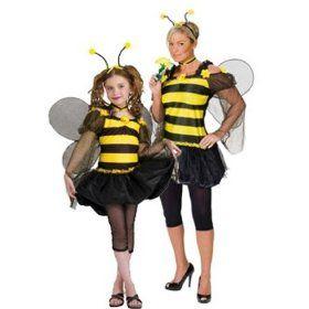 Vestito da ape http://www.regaliperbambini.org/abbigliamento/costumi-carnevale/vestito-da-ape