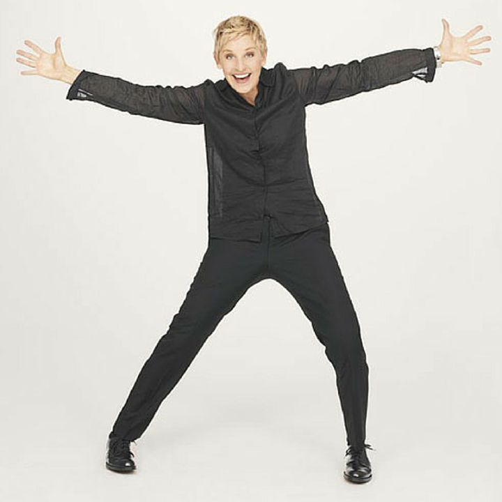 Ellen DeGeneres: Find out who you are and figure out what you believe in. Even if it's different from what your neighbors believe in and different from what your parents believe in. Stay true to yourself. Have your own opinion. Don't worry about what people say about you or think about you. Let the naysayers nay. They will eventually grow tired of naying. #EllenDeGeneres #myadvice #HumanNote